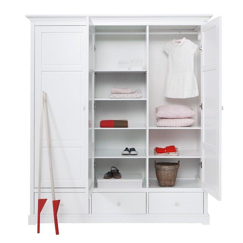 oliver furniture garderob seaside white. Black Bedroom Furniture Sets. Home Design Ideas