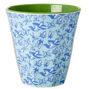 Rice Mugg Bird & Butterflies Medium
