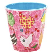 Rice Mugg Hen Pink Medium