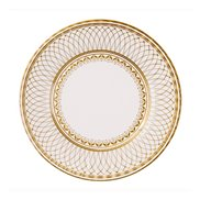 Papptallrikar Party Porcelain Gold 27 cm