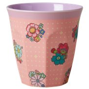 Rice Mugg Flower Stitch Medium