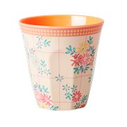 Rice Mugg Embroidered Flower Small