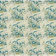 Brunschwig & Fils Tyg Horseshoe Bay Aqua Green