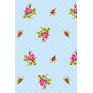 PiP Studio Tapet Roses and Dots Blue