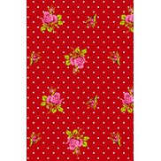 PiP Studio Tapet Roses and Dots Red