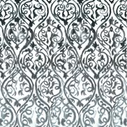 Designers Guild Tyg Arabesque Graphite