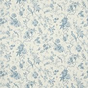 Sanderson Tyg Pillemont Toile China Blue