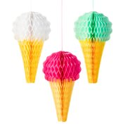 Talking Tables Honeycombs Ice Cream 3-pack