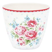 GreenGate Lattemugg Tess White