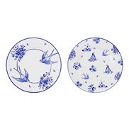 Talking Tables Papptallrikar Party Porcelain Blue 27 cm