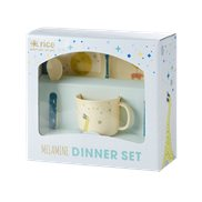 Rice Presentkit Melamin Space Animal