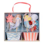 Meri Meri Cupcake Kit Lets be Mermaids