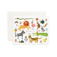 Rifle paper co Kort Party animals