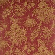 Tapet Jacobean Toile Red/Toffee