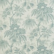 Tapet Jacobean Toile Opal/Teal