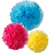 Talking Tables Pom Poms Bright 3-pack
