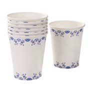 Pappmuggar Party Porcelain Blue