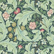 William Morris & Co Tapet Leicester Woad/Sage