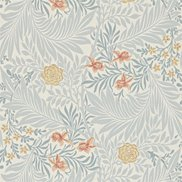 William Morris & Co Tapet Larkspur Slate/Russet