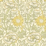 William Morris & Co Tapet Pink & Rose Cowslip/Fennel