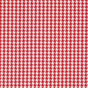 Tyg Caraval Houndstooth Red