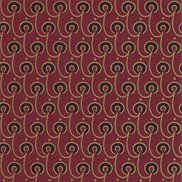 William Morris & Co Tapet Red House Red/Black