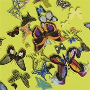 Christian Lacroix Tapet Butterfly Parade Safran