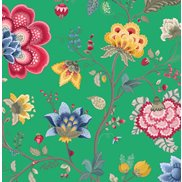 PiP Studio Tapet Floral Fantasy Green
