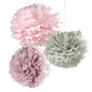 Talking Tables Pom Poms Pastel 3-pack