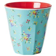 Rice Mugg Aqua Mini Flower Medium