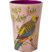 Rice Lattemugg Vintage Bird Pink