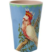 Rice Lattemugg Vintage Bird Blue