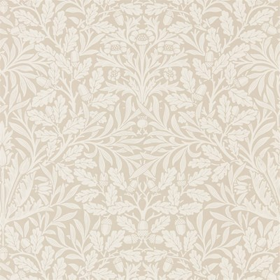 William Morris & Co Tapet Pure Acorn Linen/Ecru