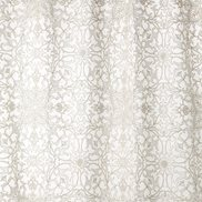 William Morris & Co Tyg Pure Net Ceiling Embroidery Paper White