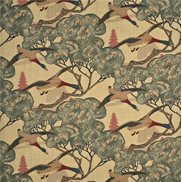 Mulberry Home Tyg Flying Ducks Camel/Grey
