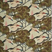 Mulberry Home Tyg Flying Ducks Sky