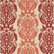 Mulberry Home Tyg Staveley Damask Sienna/Paprika