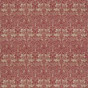 William Morris & Co Tyg Brer Rabbit Red/Hemp