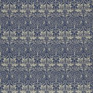 William Morris & Co Tyg Brer Rabbit Indigo/Vellum