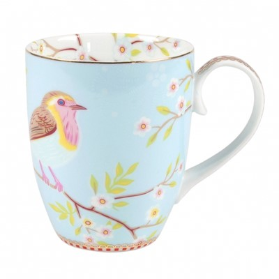 PiP Studio Mugg Early Bird Blue Large