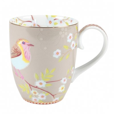 PiP Studio Mugg Early Bird Khaki Large