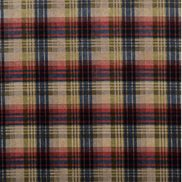 Mulberry Home Tyg Mulberry Velvet Ancient Tartan Red/Blue/Green