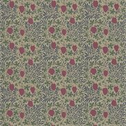 William Morris & Co Tyg Vine Russet/Heather