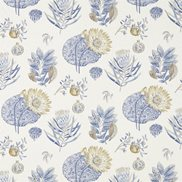 Sanderson Tyg Lily Bank China blue/Linen