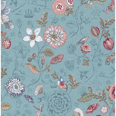 PiP Studio Tapet Spring to life Sea Blue