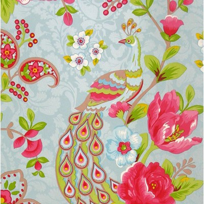PiP Studio Tapet Flowers in the Mix Light Blue