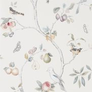 Sanderson Tapet Fruit Aviary Cream/Multi