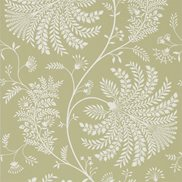 Sanderson Tapet Mapperton Garden Green/Cream