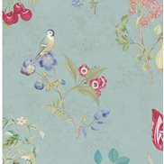 PiP Studio Tapet Cherry Pip Light Blue