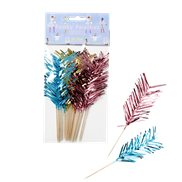 Rice Party Sticks Foil Feathers